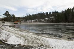 Bygdøy Sjøbad, restaurering/tilbakeføring av området, vinter