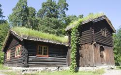 Barfrøstue fra Gammelstu Trønnes, Stor-Elvdal i Østerdalen.