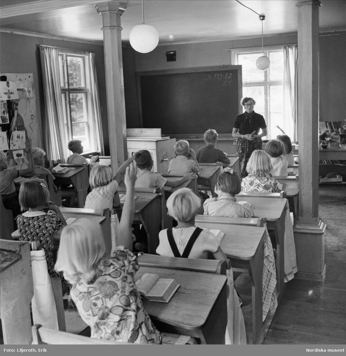 Liten landsbygdsskola i Värendssocknen Urshult
