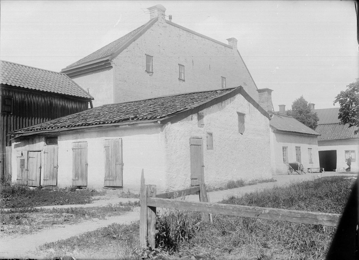 Gårdsinteriör, Kungsängsgatan 37, Kungsängen, Uppsala 1908