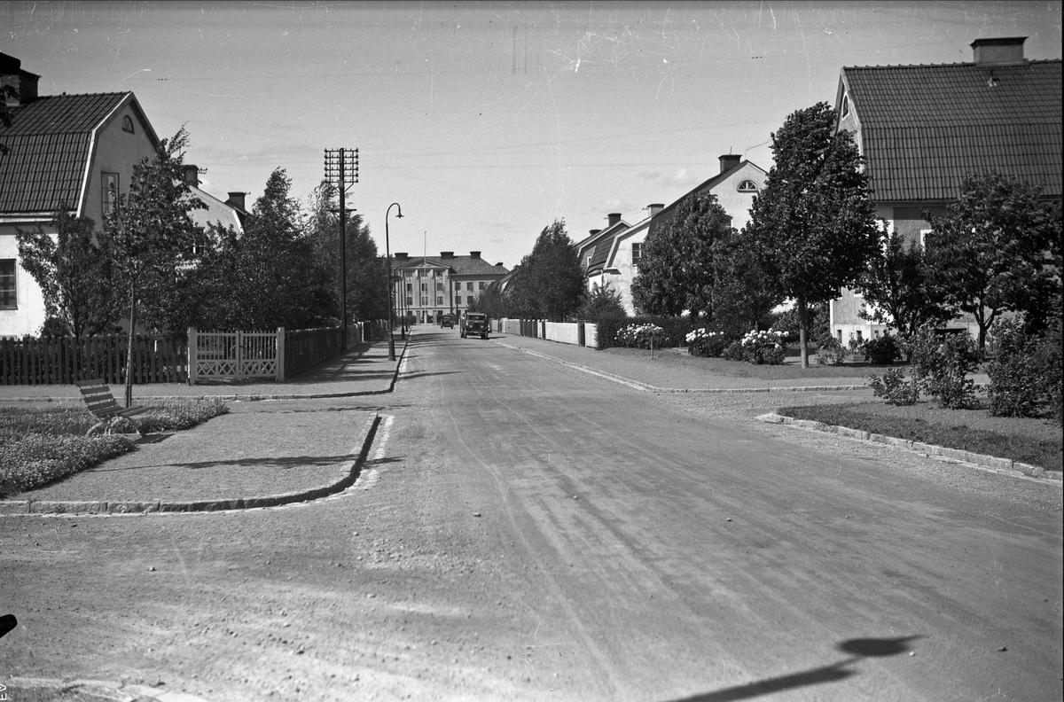 Villaområde, Vikingagatan, stadsdelen Svartbäcken, Uppsala