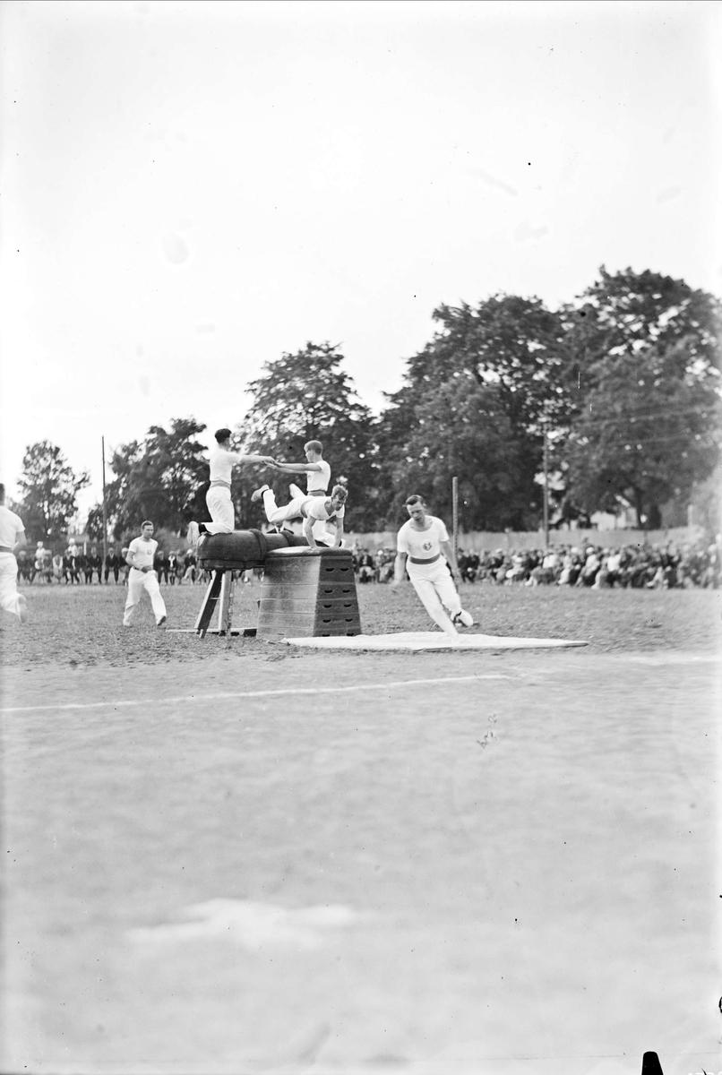 Uppsala Gymnastiksällskap - gymnastikuppvisning, Uppsala 1934
