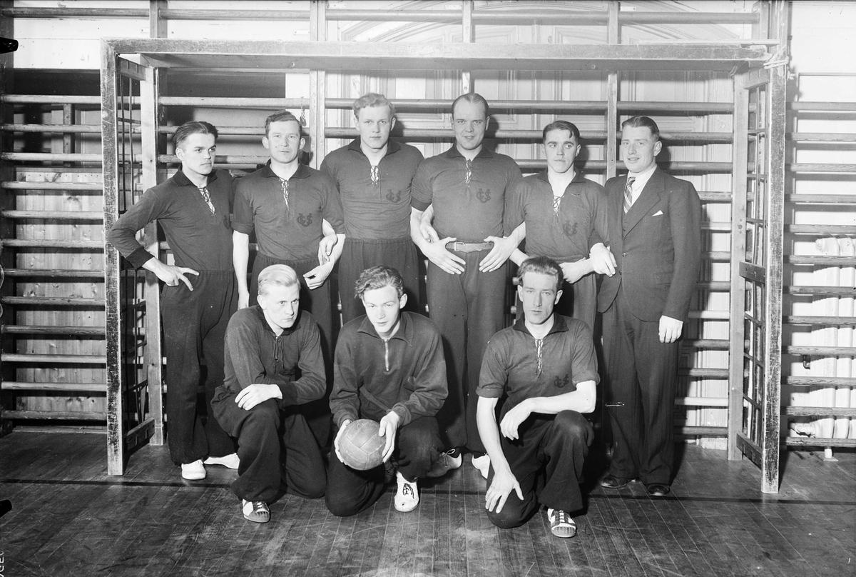 Handbollslag, sannolikt, Uppsala, 1937