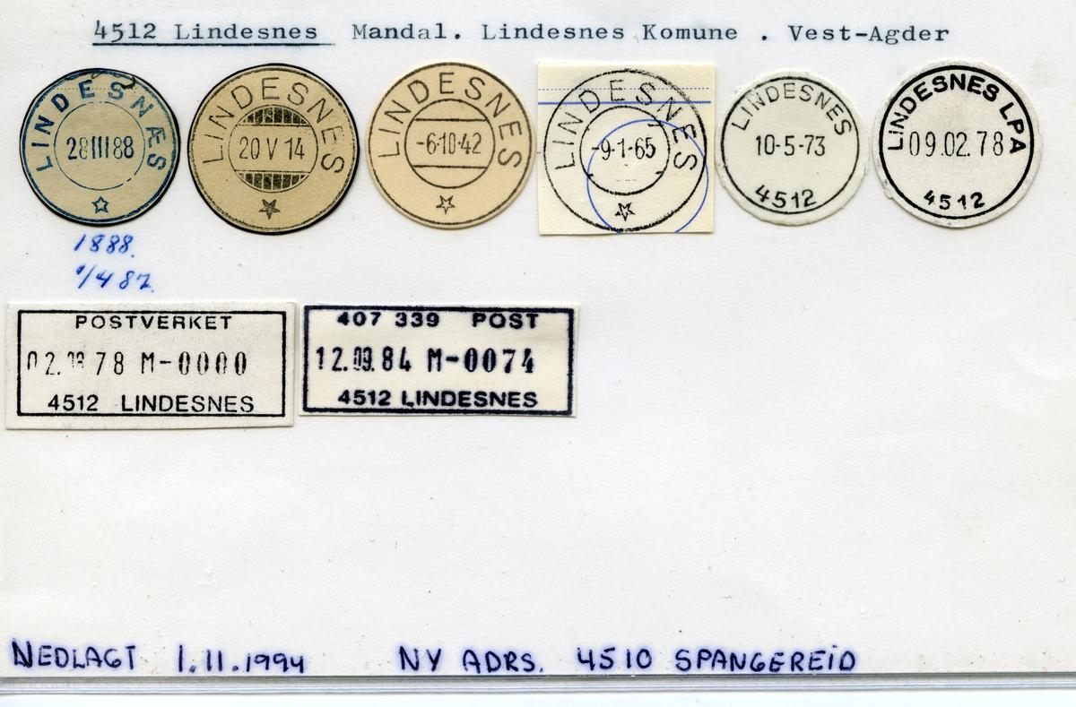 Stempelkatalog Langøra, Honningsvåg, Lebesby, Finnmark