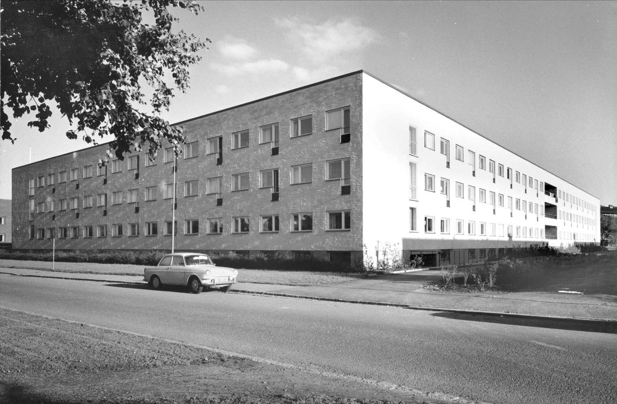 Uppsala sjuksköterskehem på Döbelnsgatan, kvarteret Haubitsen, Uppsala