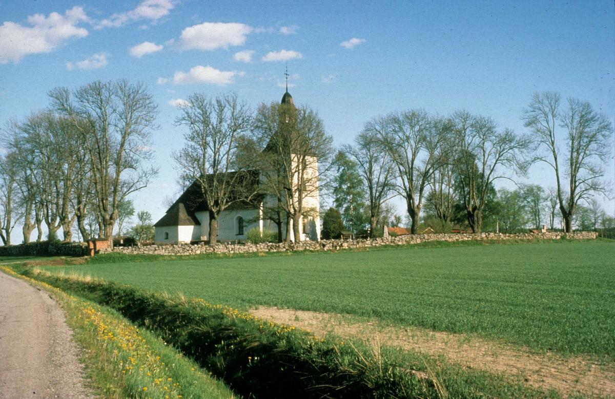 Biskopskulla kyrka, Biskopskulla socken, Uppland 1987