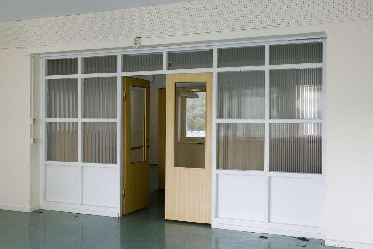 Akademiska sjukhusets psykiatriska klinik, kvarteret Sjukhuset, Uppsala 2009. Sal för sex patienter, vån 1 tr.