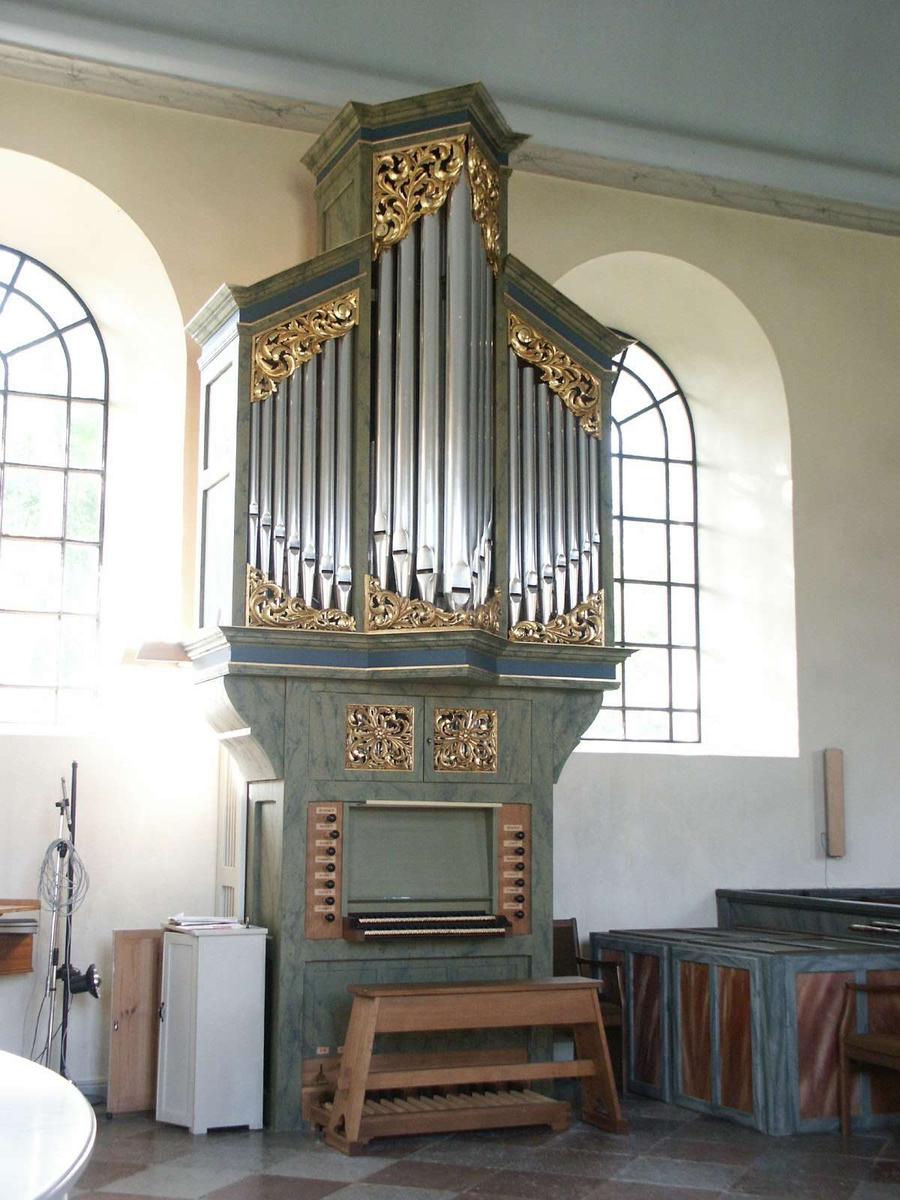 Kororgel i Östhammars kyrka, Östhammar, Uppland 2004