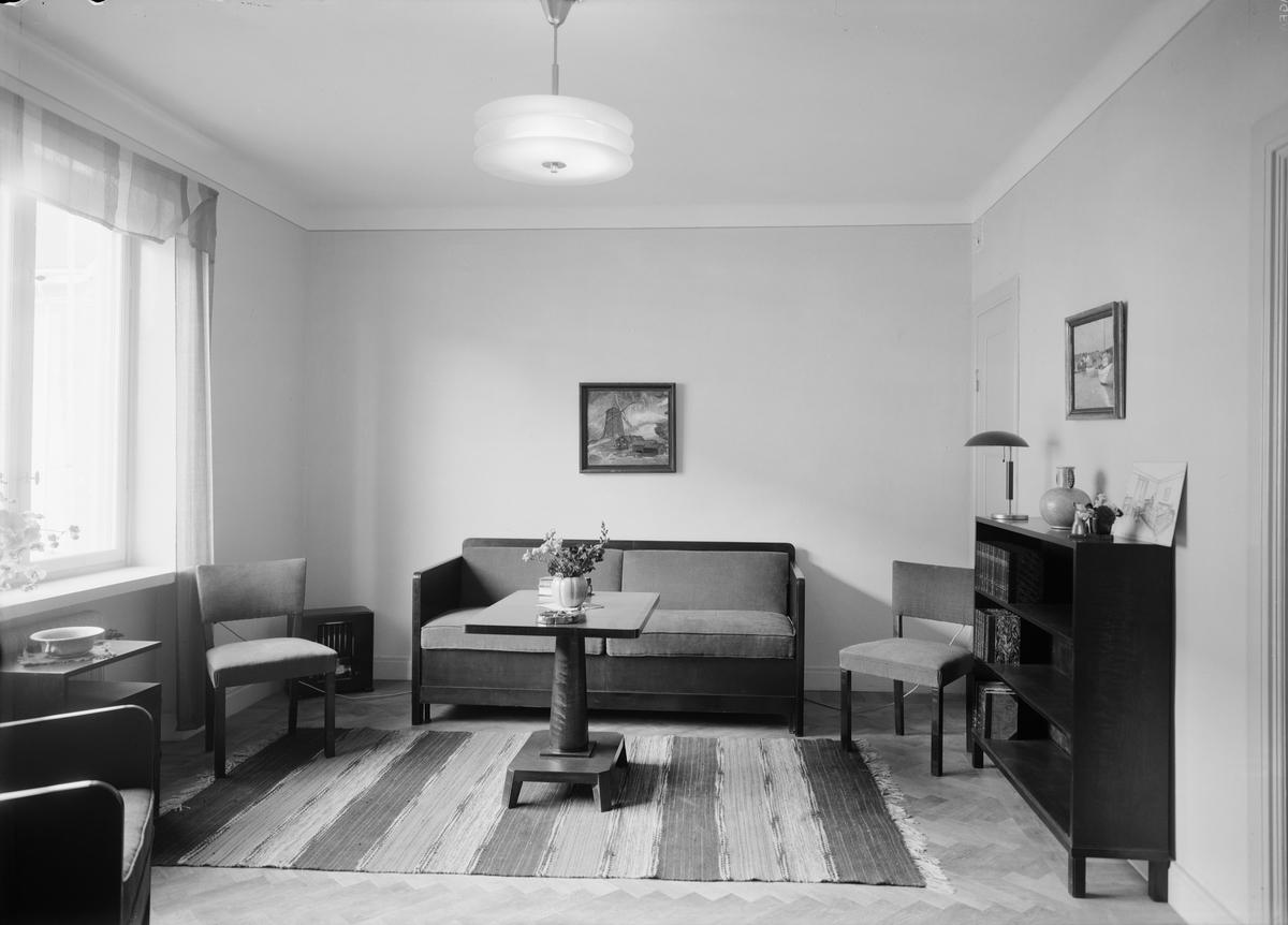 Bostadsinteriör - hemutställning, kvarteret Ydal, Kvarngärdet