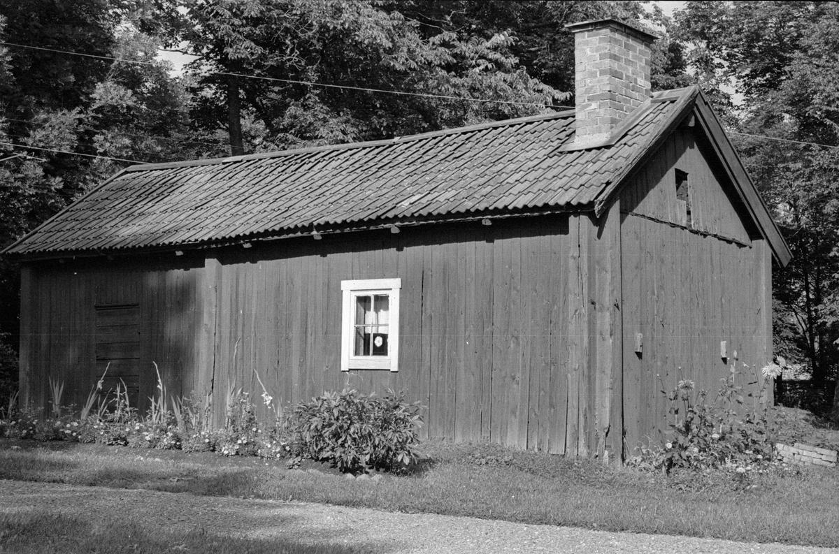 Förråd, Södergården, del av Lena-Brunna 4:1, Brunna, Lena socken, Uppland 1978