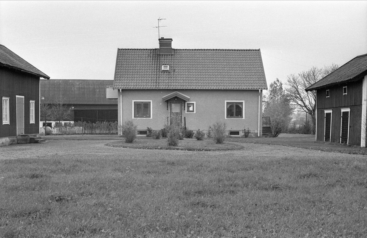 Brygghus, bostadshus och bod/magasin, Fullerö, Gamla Uppsala socken, Uppland 1978