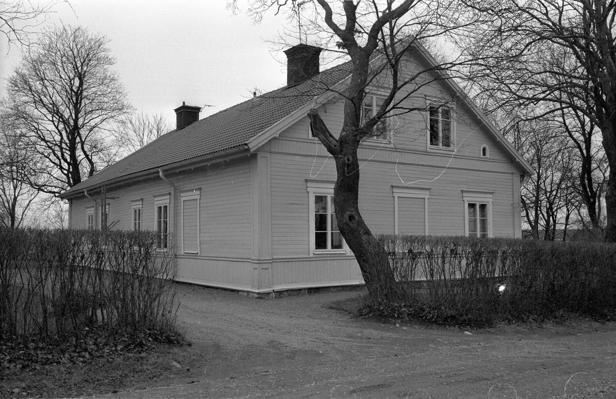 Mangårdsbyggnad, Säby gård, Säby 7:1, Säby, Danmarks socken, Uppland 1978