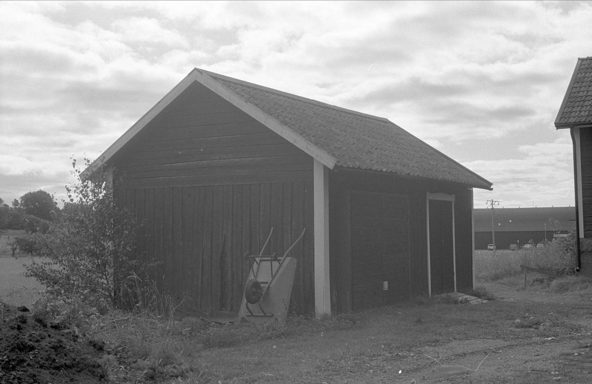Bod, Lilla Väsby 1:32, Almunge socken, Uppland 1987