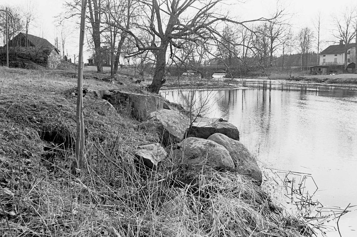 Tidigare hamnläge vid Tämnarån, Fors, Tierps socken, Uppland 2000