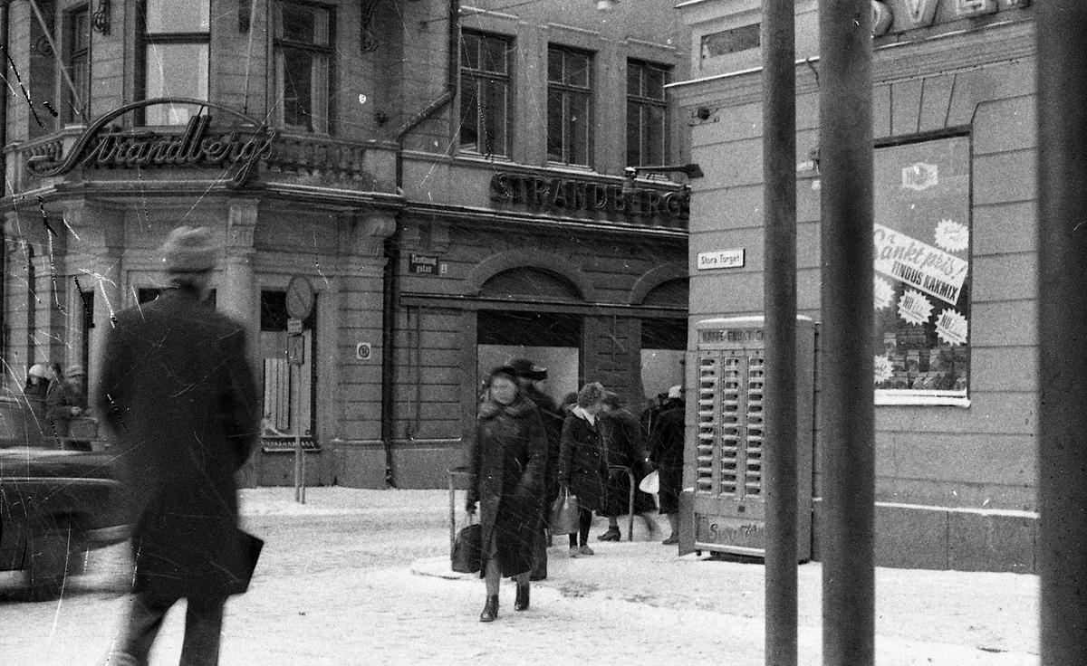 Stora Torget, Uppsala 1961