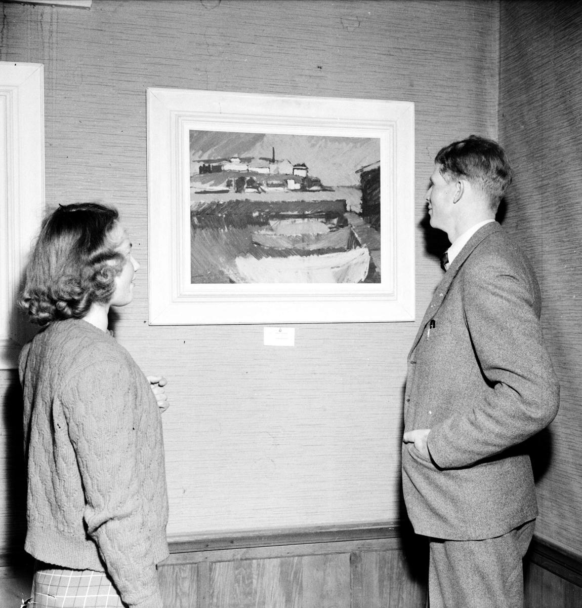 Upplands konstförenings utställning i Dannemora hembygdsgård