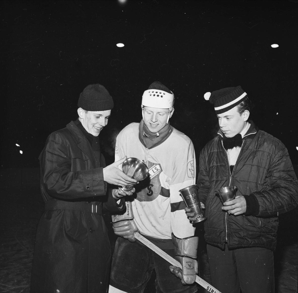 Ishockeyspelare från Almtuna IS med idrottspriser, Uppsala 1962
