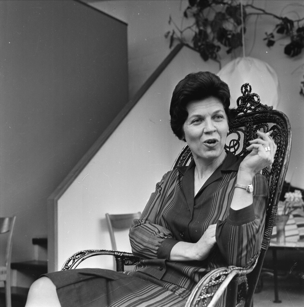 Keramikern Ingrid Atterberg, Uppsala 1961