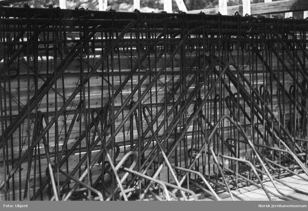 Bygging av vegundergang for Setesdalsveien ved Søndre Krossen, km 367,5