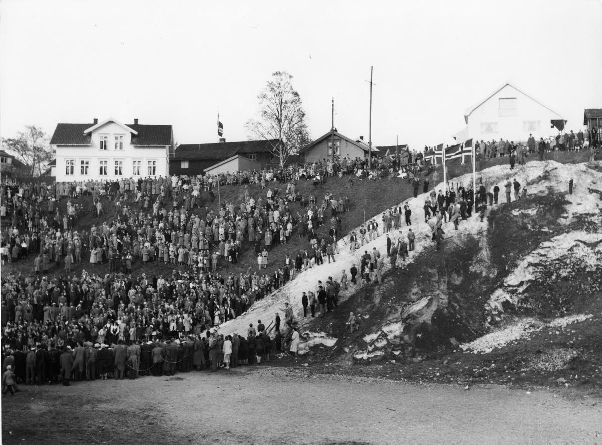 Carnival ski jumping at Skauløkka, Kongsberg
