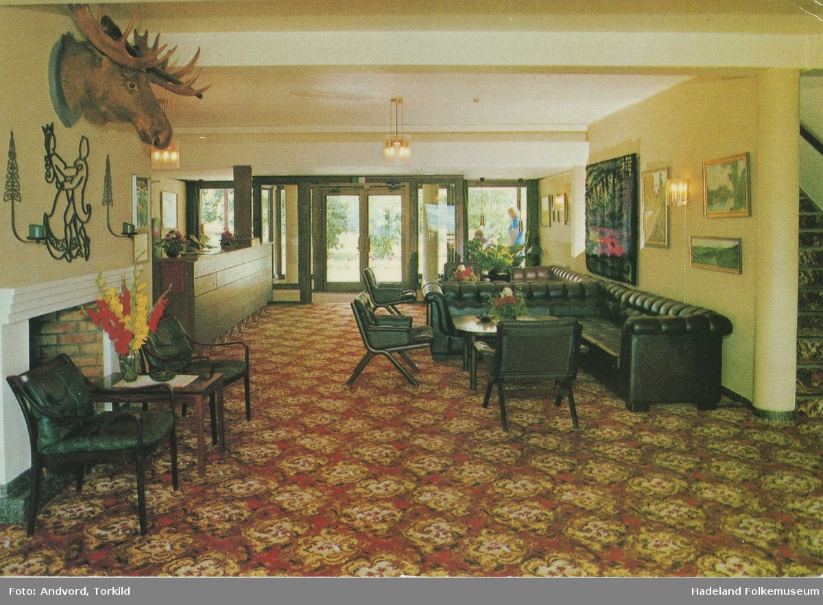 Hadeland Turisthotell / Hotell Hadeland interiør stue