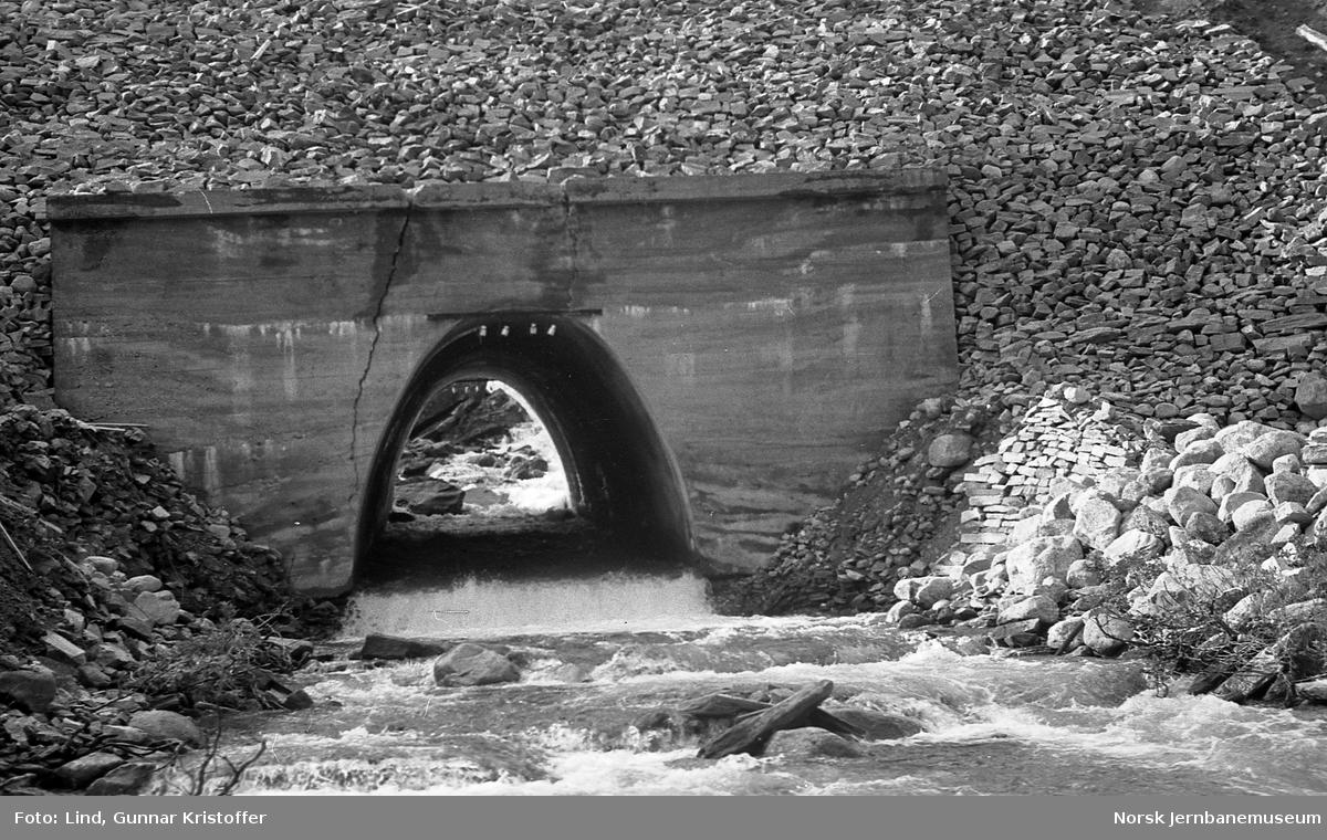 Nordlandsbaneanlegget : kulvert for Nordre Bolnabekk