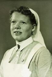 Portrett av Marie Seland. Grindheim Audnedal.