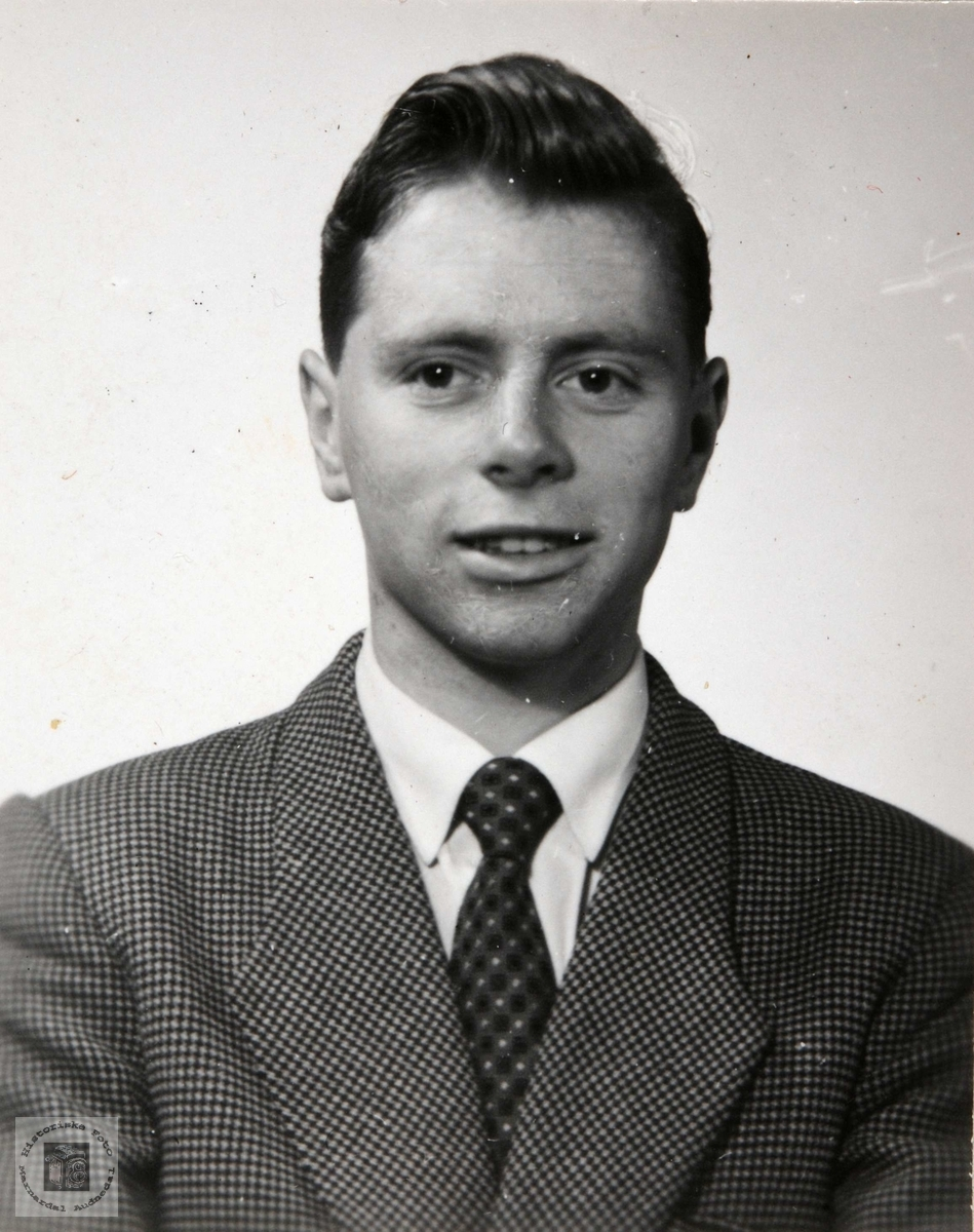 Portrett av Knut Øydneskleiv. Konsmo Audnedal.