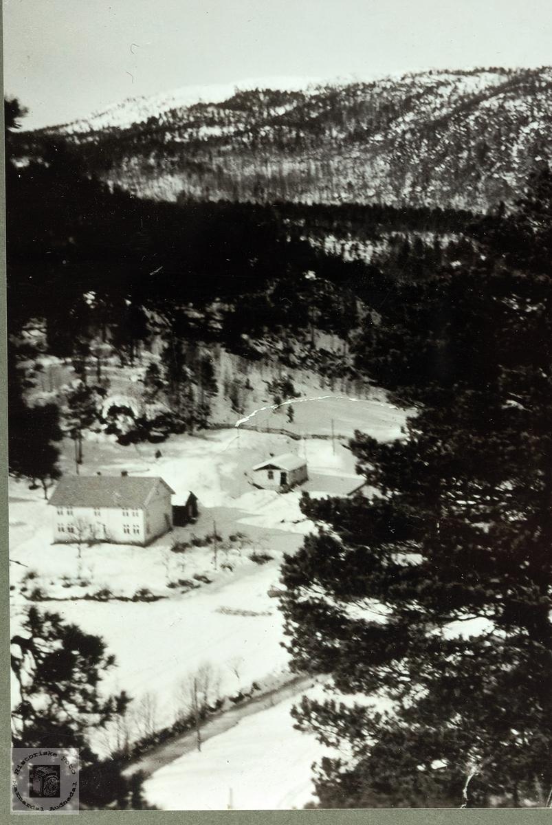 """Gården """"Der ute"""" på Håland i Grindheim. Audnedal"""