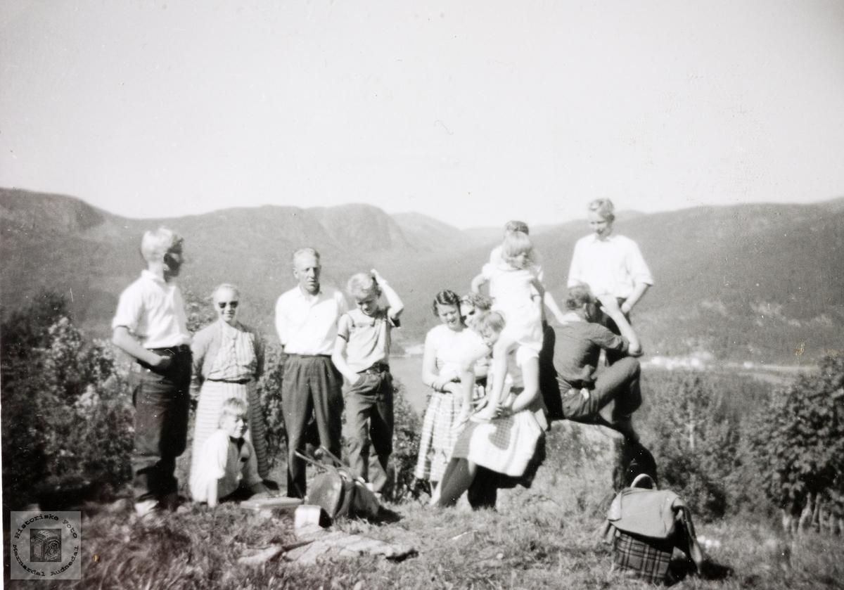 Søndagstur til Håberg i Eiken.
