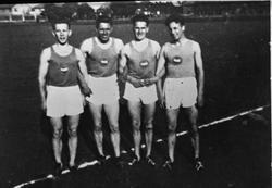 Fire sportlere frå Sandnes ULF: Thor Johannesen, Tønnes Fjog