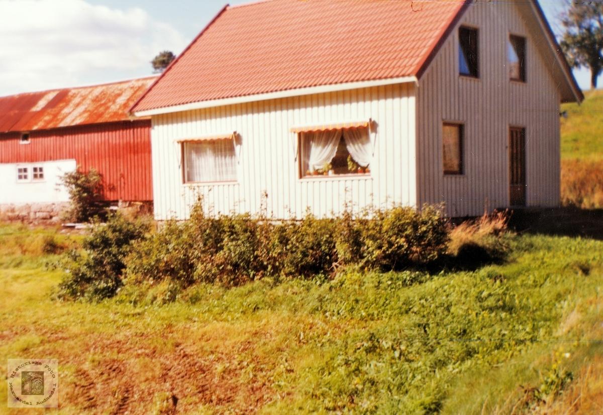 """Gården """"Der veste"""", Seland  Grindheim. Audnedal."""