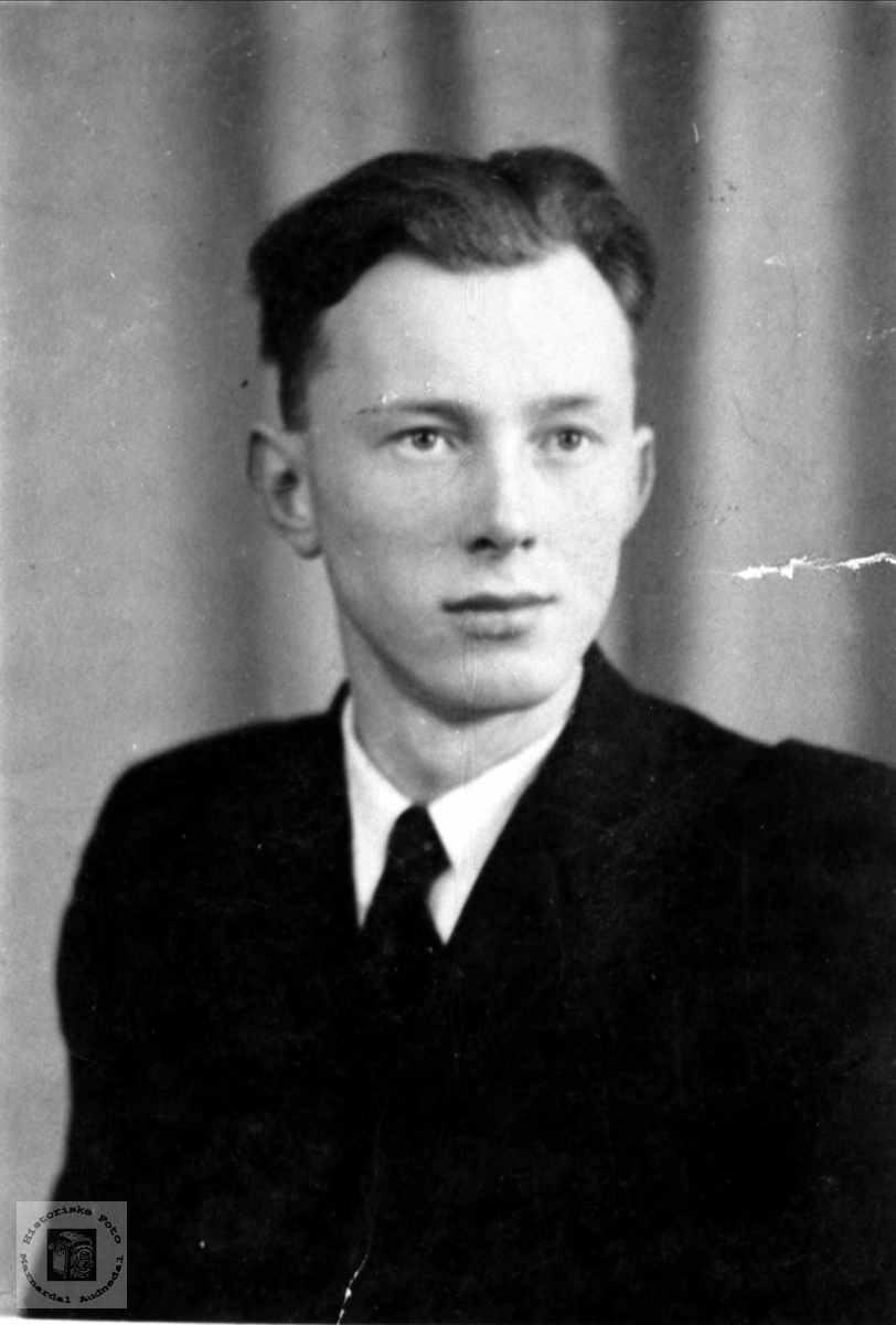 Portrett av Knut Stedjan, Bjelland.