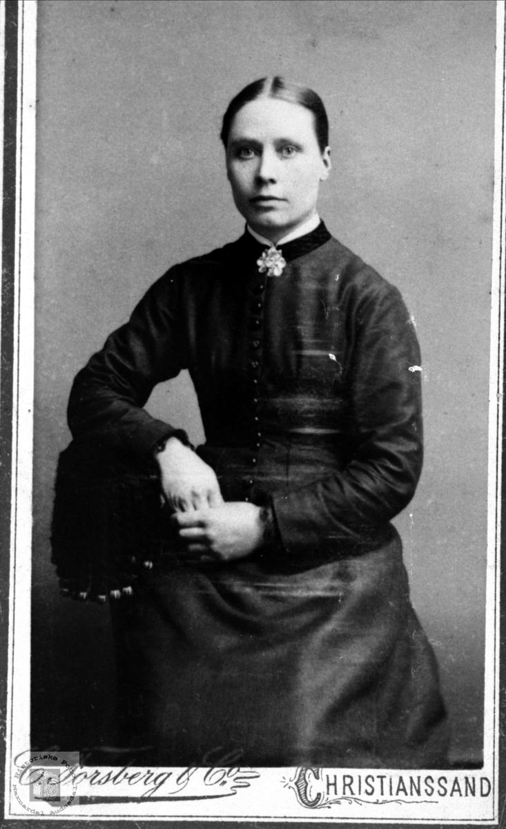 Portrett av Maria Manneråk, Øyslebø.
