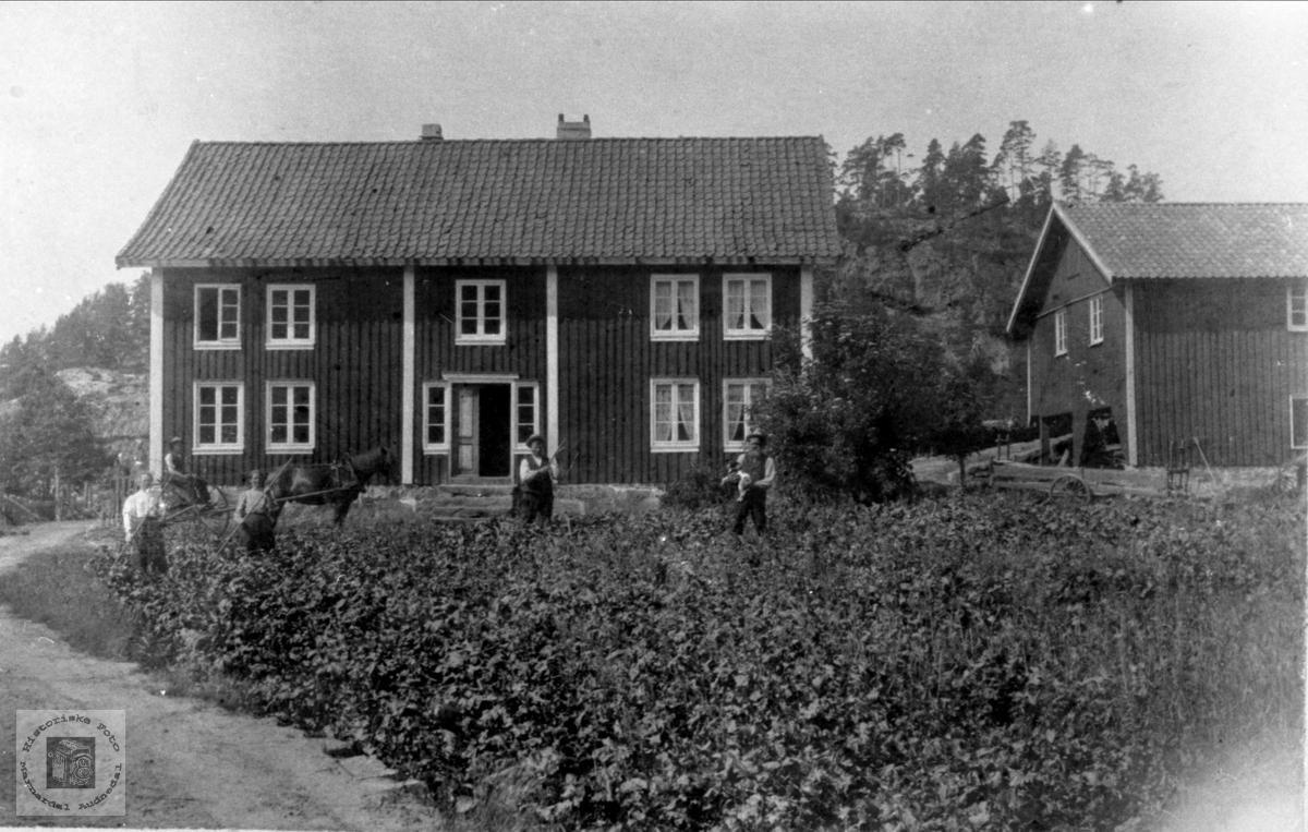 Slåttetid (Høyonn) på Høye, Øyslebø.