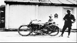 Motorsykkel, posthus