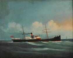 Dampskip Tamarind av Kristiania