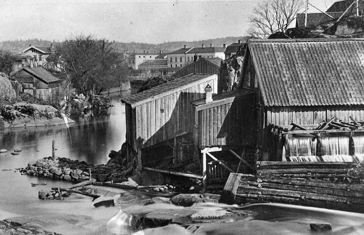 """Enligt text på fotot: """"Strömberget""""."""
