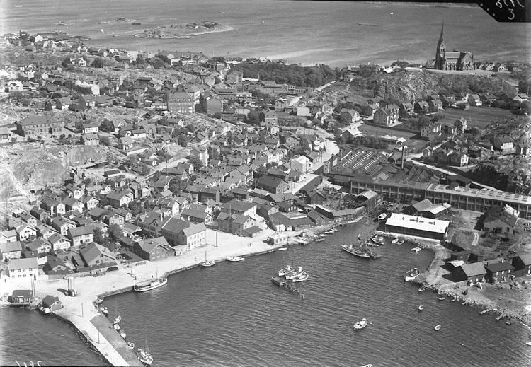 """Enligt Flygtrafik Bengtsfors: """"Lysekil Bohuslän""""."""
