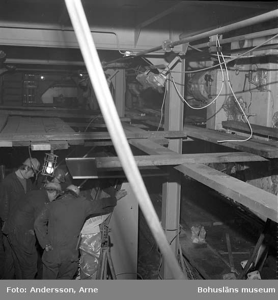 Skyddet: Dokumentaion av ställningar på fartyg 235 M/T Ronariver.