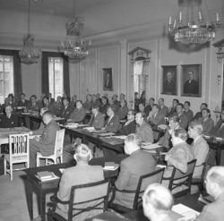 Uddevalla rådhus i maj 1947