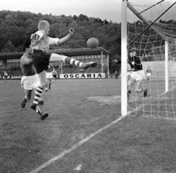Fotbollsmatch mellan UIS och Munkedal