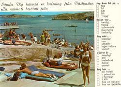 Solsemester i Bohuslän
