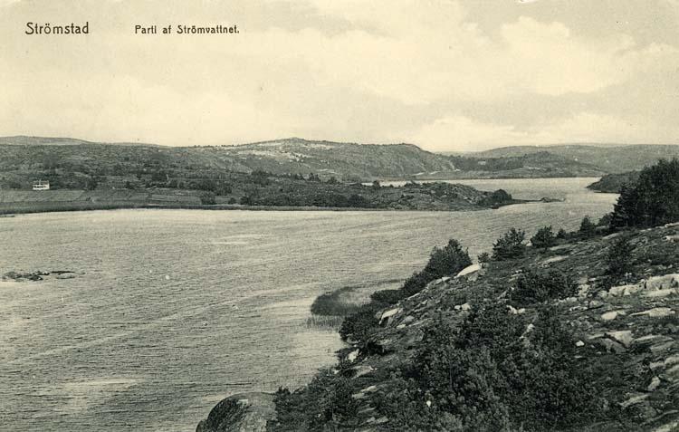 Strömstad. Parti av Strömvattnet.