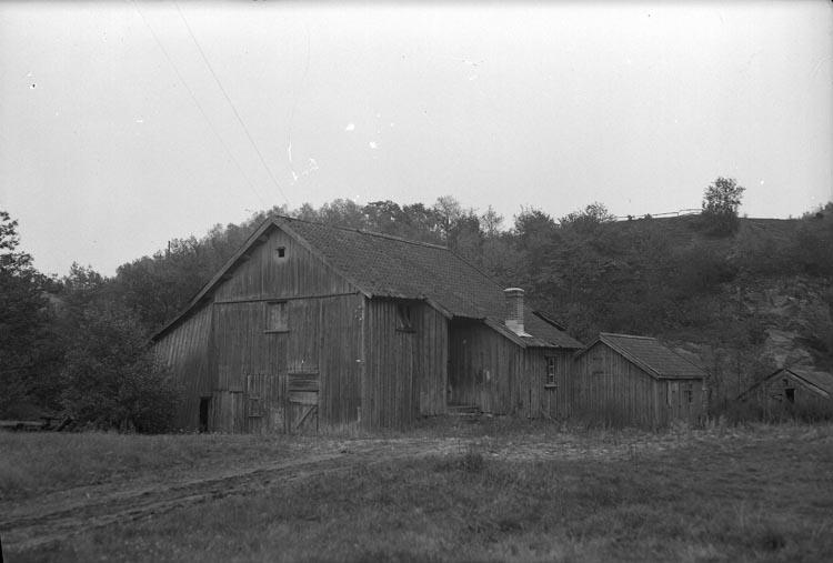 """Enligt fotografens noteringar: """"Hagarne kvarn, Munkedal."""""""