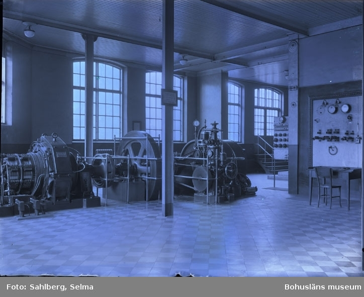 """Kraftstationen i Munkedals fabrik."""