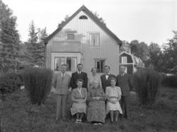 Uppvaktning av Augusta Johansson på Slånbärsvägen 5