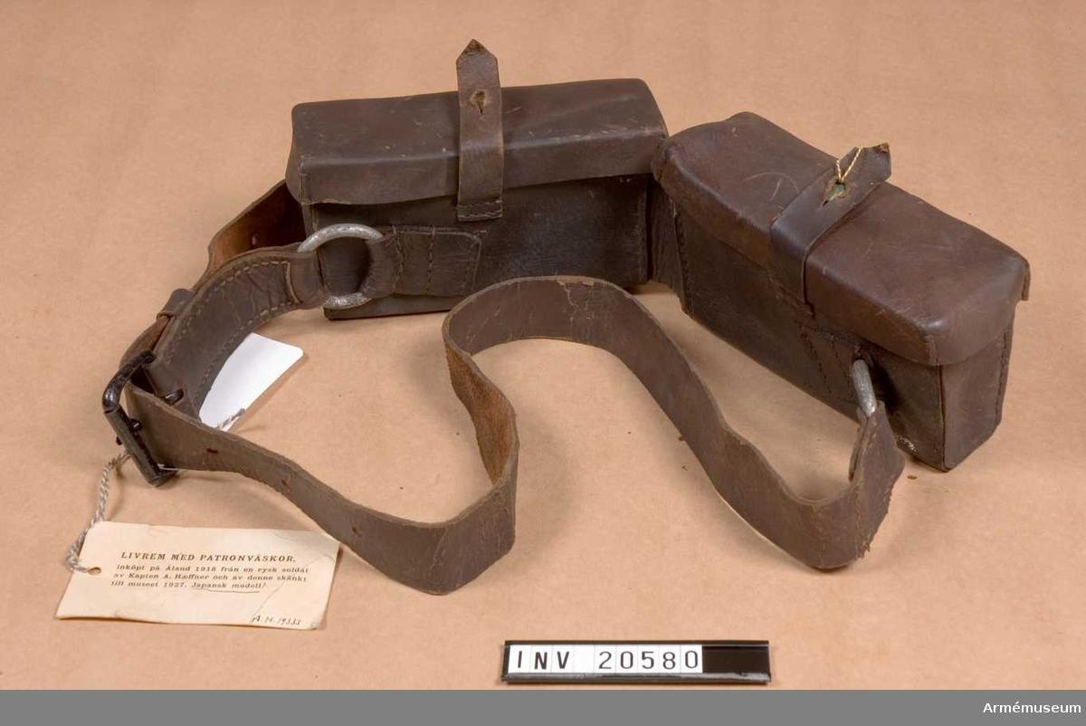 Grupp C II. Köpt från en rysk soldat på Åland 1918.