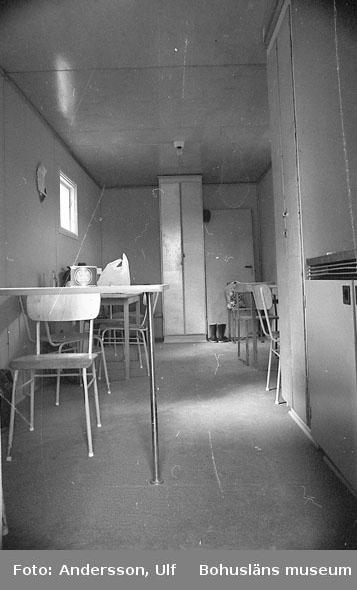 """Bohusläns samhälls- och näringsliv. 2. STENINDUSTRIN. Film: 15  Text som medföljde bilden: """"Interiör lunchrum""""."""