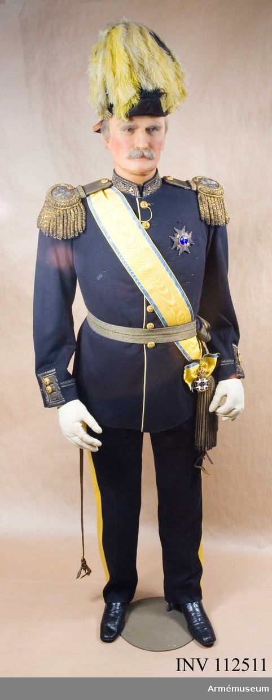 Museets chef Lejonhuvud är den avbildade i vax.